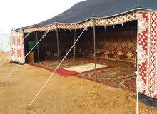 مخيم الدانة قسمين ب 1000 من السبت الى الخميس