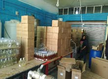 مصنع منظفات وعبوات بلاستيكية