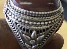 ياقوت هندي أحمر صياغه يدوي - 4 جرام وزن الحجر