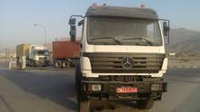 للبيع شاحنة مرسيدس 2631 سكس ويل موديل 1997