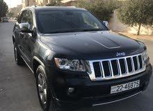 Black Jeep Grand Cherokee 2012 for sale