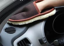 قفاز لتنظيف السياره او الأواني منزليه
