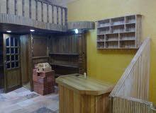 ديكور خشب صناعة محلية