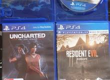 العاب PS4 للبيع او البدل
