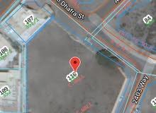 للبيع ارض سكنية كورنر في الحيل الشمالية (ثالث قطعة من البحر 3579متر)