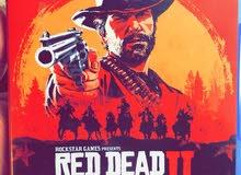 لعبة RED DEAD REDEMPTION 2 للبيع كاش او صك