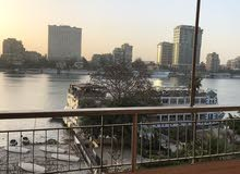 شقه للبيع على النيل مباشر