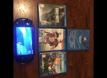 ps vita slim with memory card and games
