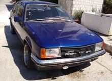 اوبل ريكورد اللون ازرق موديل 1980 مرخصه لا شهر 2  متور اومكا انجكشن سياره بصلاه