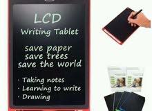 LCD Writing TAblet اللوح الإلكتروني