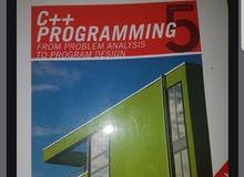 للبيع كتاب c++ programming from problem analysis to progr
