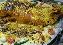 طباخ متنقل داخل الرياض وخارج الرياض يوجد لدينا جميع انواع الذبائح حواشي وخرفان