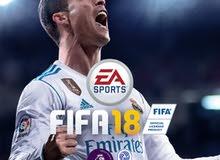 مطلوب لعبة fifa 18 عربي