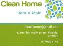 نحن نوفر لكم مرافقات لكبار السن والرعايه الصحية وعاملات تدبير منزلي قانونيات ومد