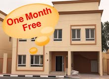 new villa with one month free