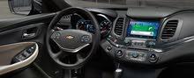 سيارة شيفورليه امبالا 2016 بحالة المصنع مع السائق يوميا الي 3 عصرا