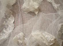 فستان زفاف مستعمل 1 وحده