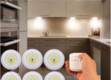 اضاءات LED بتحكم عن بعد بالريموت كنترول