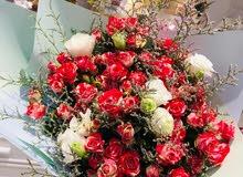 بيع جميع انواع الورود طبيعيه وهدايا ومناسبات واعيد ميلاد