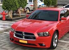 دودج تشارجر وكالة عمان سرفس وكالة Amazing Dodge charger R/T 5.7 HEMI  Red color