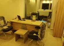 غرف مكتبية مفروشة للايجار وتصلح لإصدار سجل تجاري و رخصة مهن - ابونصير