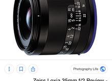 ZEISS 35mm f/2.0