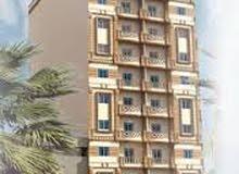 عمارة للبيع130سوبر لوكس  بحى جامعة المنصورة