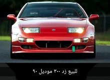 Manual Red Nissan 1990 for sale