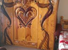 غرفه نوم متكامل  خشب سويدي درجه اولي