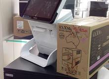 منظومة مقهى كوريه POSBANK مستعمله بسعر مخفض