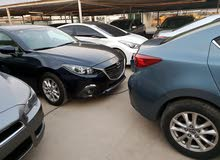Automatic Maroon Mazda 2015 for sale