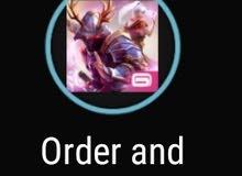 حسابات لعبة order and chaos و حساب لعبة MC5