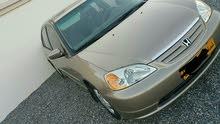 Gold Honda Civic 2001 for sale