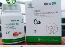 zinc cordycep and calcium