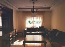 شقة مفروشة طابق ثالث للايجار في اجمل مواقع خلدا , مساحة البناء 208 م