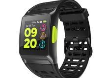 ماكيبيس بي آر ون - ساعة ذكية شريط سيليكون متوافقة مع اندرويد و اي او اس,لون اسود - GPS
