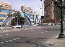 مساحة تجارية للايجار بموقع رائع بكورنيش النيل - المعادى تصلح لجميع الاغراض