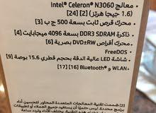 laptop hp celeron 4g ram 500hd 15.6 led