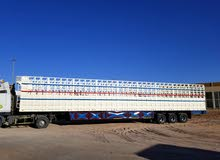 Cargo semi Trailer 03 Axles