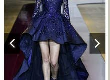 فستان من تصاميم زهير مراد للبيع او الايجار
