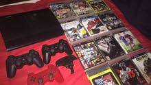 PS3 500GB + 3 controllers + 12 games