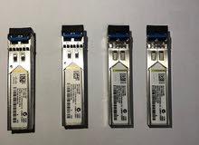 Cisco single mode SFP GLC-LH-SM Qty 4