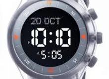 ساعة رياضية مع سير مطاط واطار دائري بلاستيك من الفجر/ديجيتال wy-16 اللون رمادي