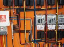 تركيب العدادات الكهربائيه الجديدة للمنازل وللمباني السكنية