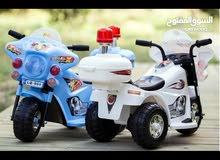 دراجه شحن 3 عجلات للاطفال من عمر 2 - 4 سنوات مع موسيقى يوجد خدمه توصيل 079631665