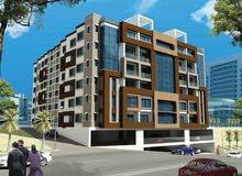 شقة قيد الانشاء للبيع بالتقسيط علي 24شهر براس الحمراء