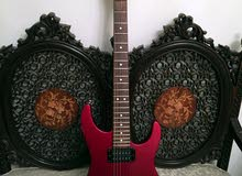 Jackson Dinky JS electric guitar with softcase -   جيتار جاكسون + شنتة