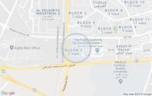 للايجار شقة ارضية في صباح الناصر