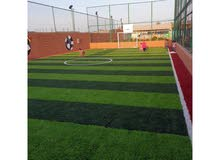 تركيب العشب الصناعي للملاعب والحدائق