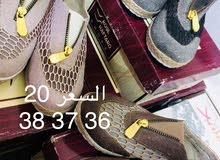 أحذية نسائية جديدة للبيع قطاعي او بجملة جملة الجملة